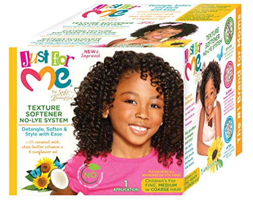 Soft & Beautiful Naturally Gentle Texture Softener Sunflower Oil Formula 1 Application Just For Me