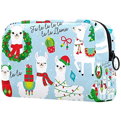 Neceser neceser cosmético viaje maquillaje organizador bolsa bolsa de lavado con cremallera lindo unicornio bebé arco iris usted es mágico para accesorios de viaje esenciales