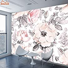 MUMUWU Photo Wall Paper Papers Home Decor Wallpapers for Living Room Girl Wallpaper Mural Self Adhesive Walls Murals (Colo...