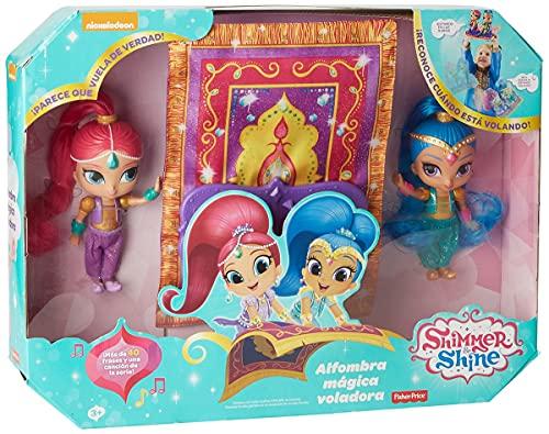 Shimmer y Shine Alfombra mágica voladora, accesorio muñecas (Mattel FHN22)