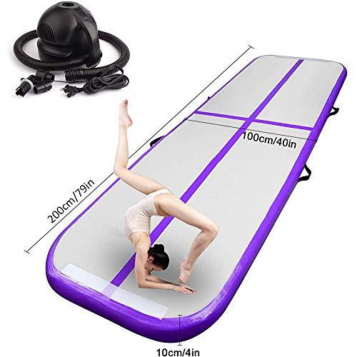 Fbsport - Esterilla hinchable para gimnasia, yoga, gimnasia, gimnasia, etc.