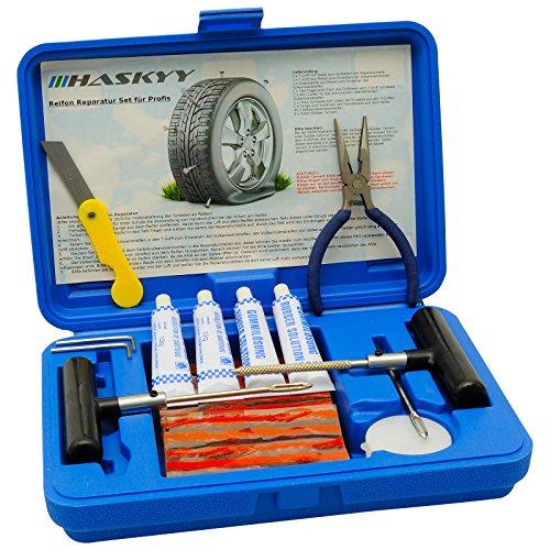 45 pz. PROFESSIONALE Riparazione gomme Set AUTOMOBILE Kit di riparazione Presse di vulcanizzazione Strisce Moto Kit riparazione