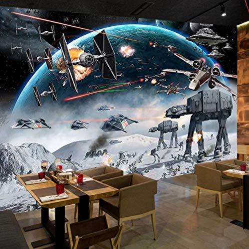 Driedimensionaal regenwoud landschap achtergrond woonkamer chlafkamer 3D fotobehang cartoon kinderkamer slaapkamer wandschilderij woonkamer wandschilderij behang voor kinderkamer 350*245 350 x 245 cm.