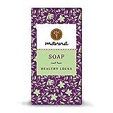 Manna Seife | Pflegt die Kopfhaut und reduziert Haarausfall | Seife für gesunde Strähnen | 90 g |...