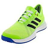 adidas Herren Adizero Ubersonic 3, Signal Green/Black/Glory Blue, 43 EU