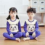 Ropa interior térmica para niños Conjunto de ropa interior de algodón for niños y niñas Ropa...