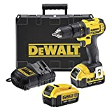 DeWalt DCD780M2-QW Perceuse-visseuse + 2 batteries 18V 4Ah Li-ion + coffret