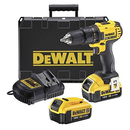DeWalt DCD780M2-QW Perceuse-visseuse + 2 batteries 18V 4Ah Li-ion + coffret