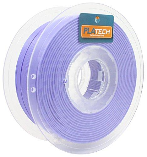 FFFworld 1 kg. PLA Tech Lila 1.75 mm. - Filamento PLA 1.75 con bobinado de precisión Optiroll - pla filament