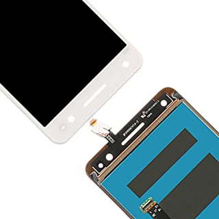 Repair Parts Compatible With Lenovo Vibe S1 LITE S1LA40 LCD Screen And Digitizer Full Assembly (Color : White)