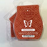 Scentsy, Clove and Cinnamon, Wickless Candle Tart Warmer Wax 3.2 Oz Bar, 3-pack (3)