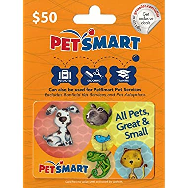 PetSmart $50 Gift Card