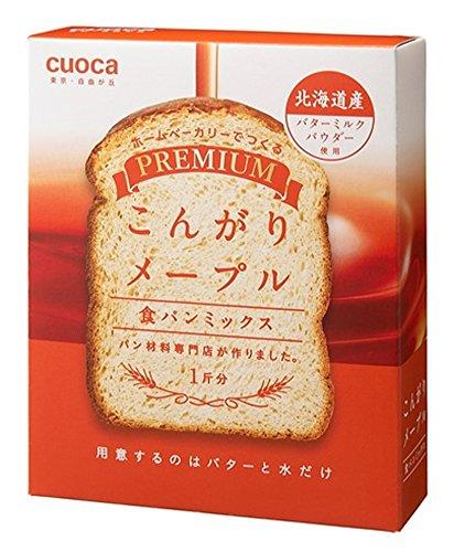 クオカ プレミアム食パンミックス こんがりメープル 253g