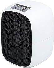 SYLTL Cerámica con Ventilador Pequeño, Calefactor Eléctrico, Portatil Ventilador Calentador Estufa De PTC Cerámica 500W con 3 Modos, para Espacio Pequeño, Dormitorio, Oficina