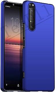 جراب TenDll لهاتف Sony Xperia 1 III، [نحيف للغاية] وجراب هاتف صلب واقٍ من البولي كربونات لهاتف Sony Xperia 1 III - أزرق