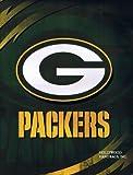 Licensed NFL Green Bay Packers Lightning Luxury Plush Queen Blanket 76'x94'