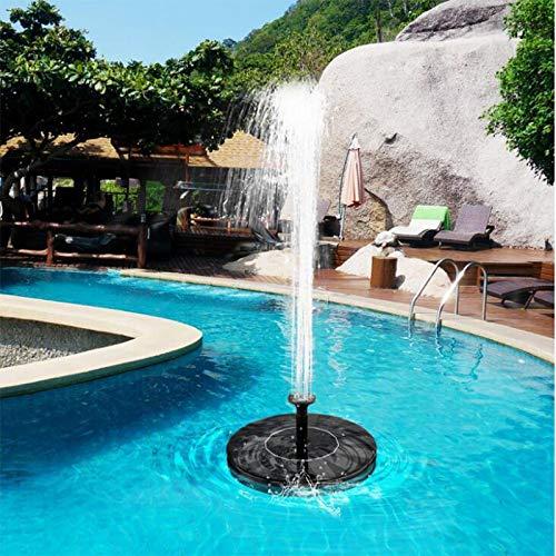 SHIJING Sonnenkollektor-Wasser-Brunnen-Garten-Brunnen-Pumpe Solar-Gartenbrunnen Wasserfall Stromvogelbrunnen angetriebene Wasser-Pumpe