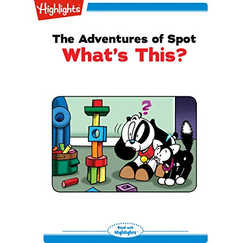 The Adventures of Spot: What's This? copertina
