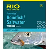 RIO Fly Fishing Saltwater 9' 16Lb Fishing Leaders, Clear