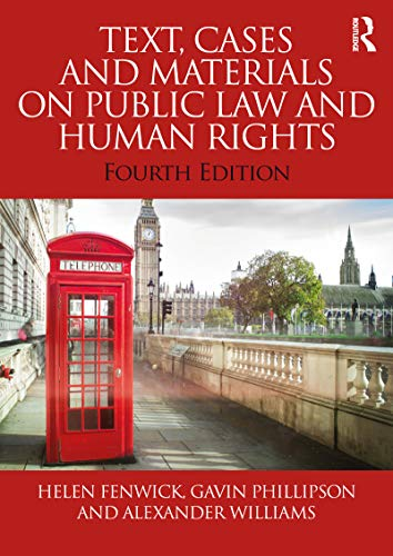 Text, Cases and Materials on Public Law and Human Rights (English Edition)