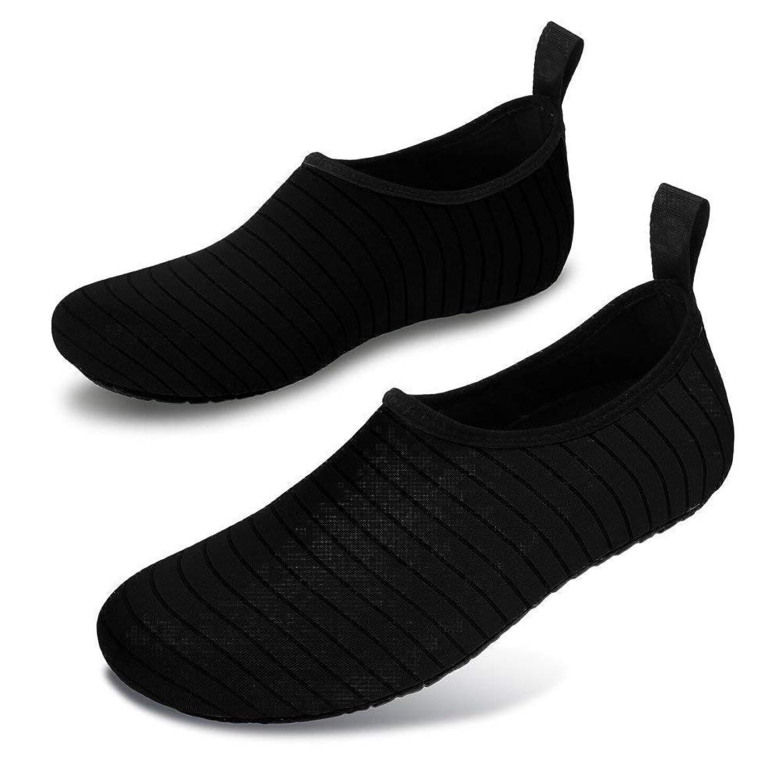 Queyue Womens Mens Water Shoes Lightweight Barefoot Quick-Dry Aqua Socks for Swim Beach Surf Yoga Exercise wfxuazxjpdloeonj