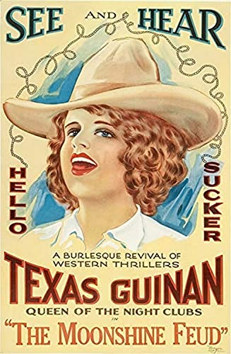 Posterazzi The Moonshine Feud Texas Guinan 1920 Movie Masterprint Poster Print (11 x 17)