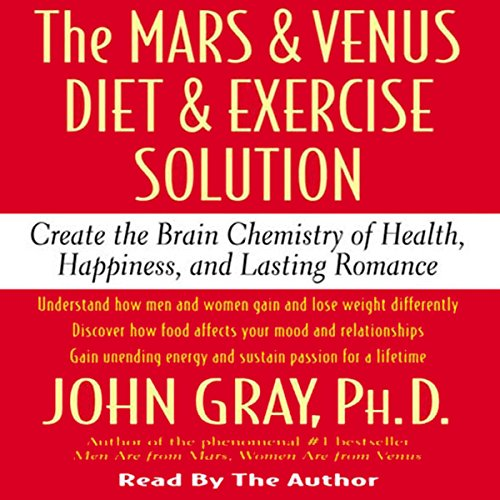 The Mars and Venus Diet and Exercise Solution audiobook cover art