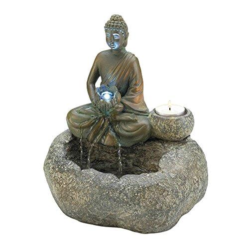 Koehler 10017965 10.25 Inch Buddha Tabletop Fountain