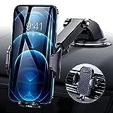 2021令和進化版 DesertWest 車載ホルダー 片手操作 2in1 スマホホルダー 粘着ゲル吸盤&エアコン吹き出し口式兼用 スマホスタンド 車 携帯ホルダー iphone 車載ホルダー 取り付け簡単 360度回転 伸縮アーム ワンタッチ 手帳型ケース対応 自由調節 日本語説明書付き 4-7インチ全機種対応 iPhone Sony AQUOS Samsung OPPO など
