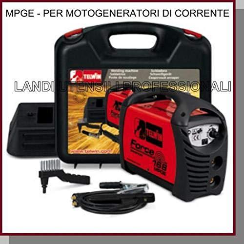 SALDATRICE TELWIN 150AMP INVERTER PER MOTOGENERATORI DI CORRENTE SERIE FORCE ART. 168...
