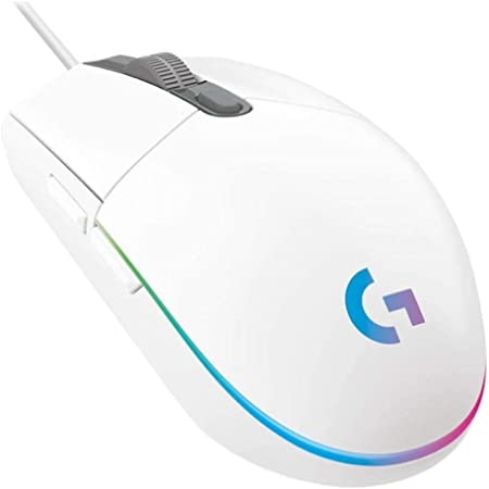Logitech G203 LIGHTSYNC 910-005794 Blanco RGB 8000dpi 9