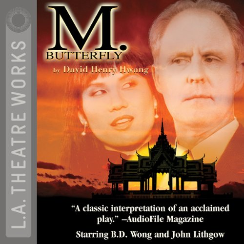 M. Butterfly audiobook cover art