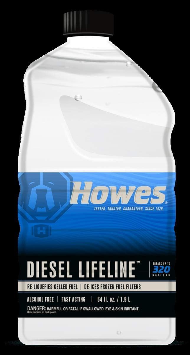 贈答 Howes Lubricator 103092 人気ブランド多数対象 64 oz Diesel Lifeline - 6 Pack of
