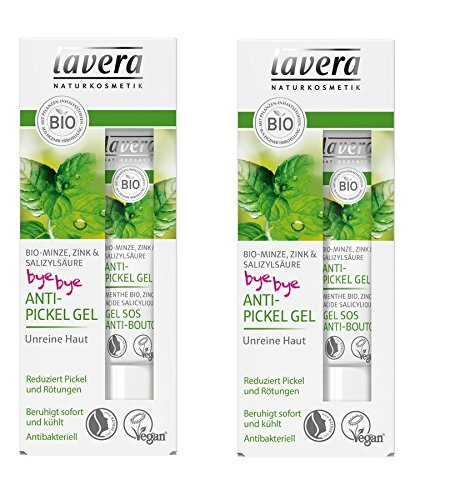 Lavera Bio Anti-Pickel Gel Bio-Minze (2 x 15 ml)