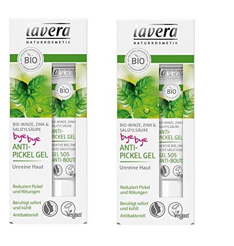 Lavera Bio Anti-Pickel Gel Bio-Minze (2 x 15 ml)