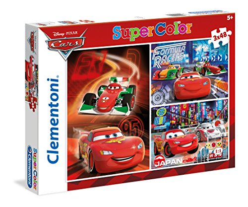 Disney   Puzzles, 3 x 48 Piezas, diseño Cars ( 251971)