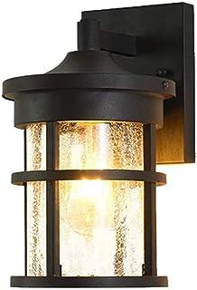 مصباح جدار الإضاءة في الهواء الطلق مصباح الجدار في الهواء الطلق على شكل برميل صغير ضوء الجدار في الهواء الطلق، إضاءة الفن ...