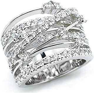 Amazon.es: anillos de compromiso - 6 (14,64 mm)