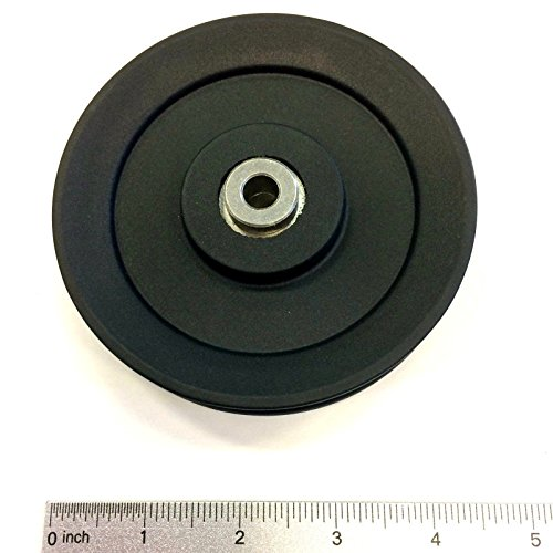 Treadlife Fitness Replacement Gym Pulley (Choose Your Size) (3.5' Pulley)