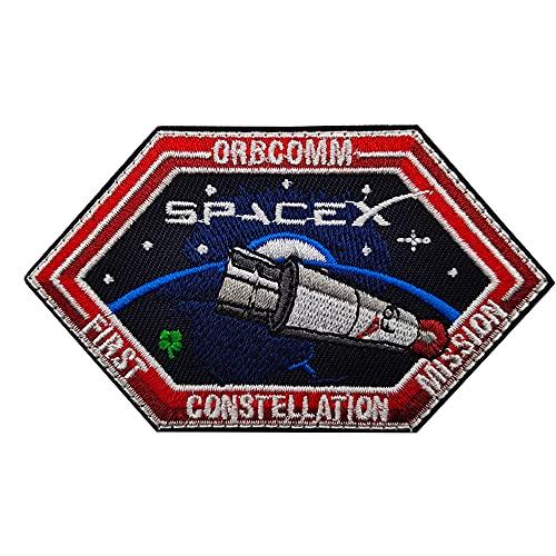 SPACEX ORBCOMM - Parche de constelación bordado, programa de misiones espaciales, logotipo, decoración para coser en apliques