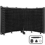 Microphone Isolation Shield, 5-Panel Pop...