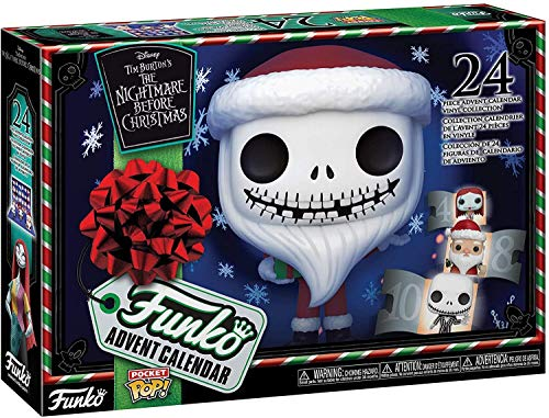 Funko Advent Calendar: The Nightmare Before Christmas - 24 Pocket Pop! Vinyl Figures (2020)