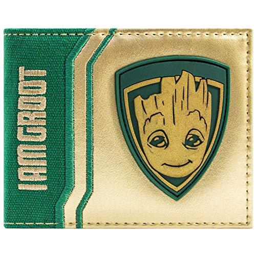 Cartera de Guardians of the Galaxy Vol. 2 Bebé Estoy Groot Oro