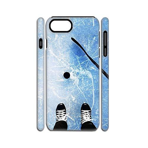 Impresión Hockey 5 Hermosa Cáscara Suave del Silicio Y del Plástico Duro Chico Compatible con Apple iPhone 6/6S 4.7Inch Choose Design 111-3