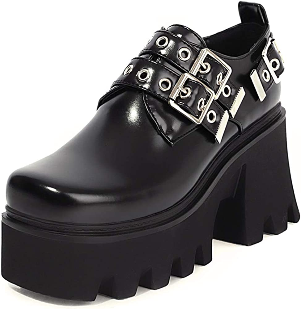 Ciuyurra Spring new work Chunky Women Gothic Ranking TOP9 Shoes