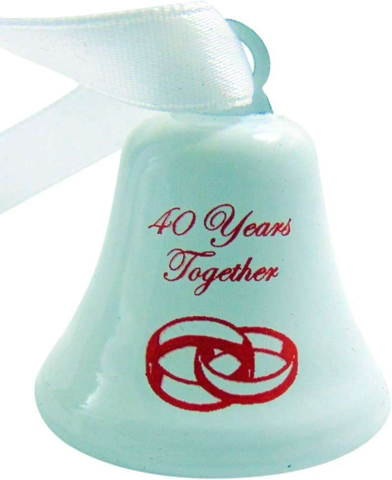 Westman Works 40th Cheap sale Manufacturer direct delivery Anniversary Ornament Forty Wed Together Years
