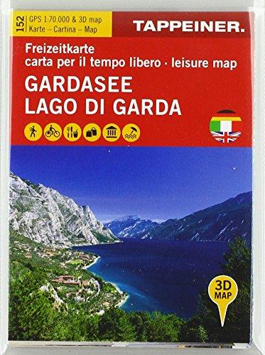 Gardasee - Lago di Garda - Lake Garda: Freizeitkarte - Carta per il tempo libero - Leisure map (Straßenkarte) (Straßenkarte: Cartina stradale)