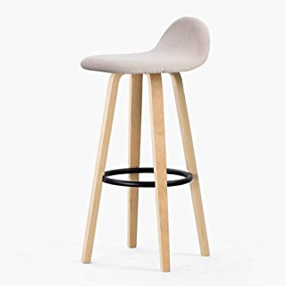 Barra de comedor sillas plegables, taburetes de barra de altura, sillas de bar industriales Qumu de algodón artesanal, sillas taburetes para bar contador comedor cocina salón de belleza de pelo ,G,X1