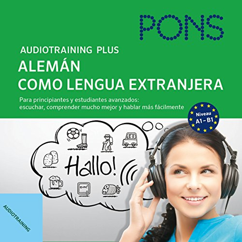 Audiotraining Plus - Alemán como lengua extranjera cover art