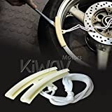 KiWAV Motorcycle Wheel Rim Protector Remove/Fit/Change Tire Reduce Damage